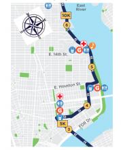 Half Marathon Route through LES